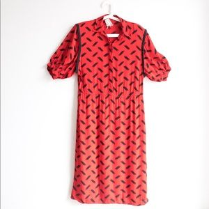 Vintage Red Maggy London Dress Size 8